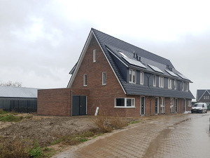 Huis bouwen baksteen groothandel