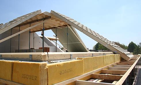 Prefab dak laten plaatsen